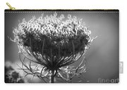 Queen Annes Lace - Bw Carry-all Pouch