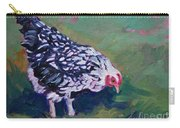 Queen Annes Lace        Hen Carry-all Pouch