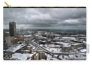 Queen City Winter Wonderland After The Storm Series 0011 Carry-all Pouch