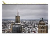 Queen City Winter Wonderland After The Storm Series 0012 Carry-all Pouch