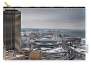 Queen City Winter Wonderland After The Storm Series 0025 Carry-all Pouch