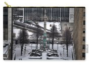 Queen City Winter Wonderland After The Storm Series 0026 Carry-all Pouch