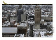 Queen City Winter Wonderland After The Storm Series 004 Carry-all Pouch