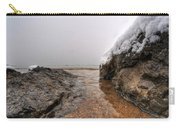 Queen City Winter Wonderland After The Storm Series 0041 Carry-all Pouch by Michael Frank Jr