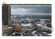 Queen City Winter Wonderland After The Storm Series 006 Carry-all Pouch