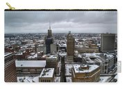 Queen City Winter Wonderland After The Storm Series 007 Carry-all Pouch