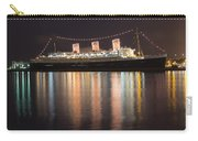 Queen Mary Decked Out For The Holidays Carry-all Pouch