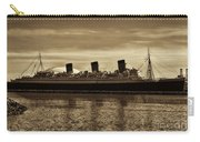 Queen Mary In Sepia Carry-all Pouch