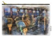 Queen Mary Ocean Liner Bridge 01 Photo Art 01 Carry-all Pouch