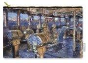 Queen Mary Ocean Liner Bridge 01 Photo Art 02 Carry-all Pouch
