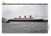 Queen Mary Ocean Liner Full Starboard Side 03 Long Beach Ca Carry-all Pouch