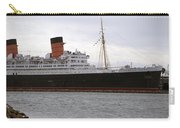 Queen Mary Ocean Liner Starboard Side 05 Long Beach Ca Carry-all Pouch