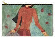 Queen Of Pentacles Carry-all Pouch