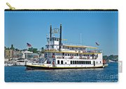 Queen Of Seattle Vintage Paddle Boat Art Prints Carry-all Pouch