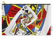 Queen Of Spades Collage Carry-all Pouch