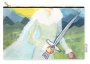Queen Of Swords Carry-all Pouch