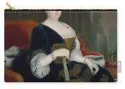Queen Sophia Dorothea Of Hanover Oil On Canvas Carry-all Pouch