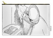 Queen Victoria Sketch Carry-all Pouch