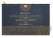 Queen's Campus - Commemorative Plaque Carry-all Pouch