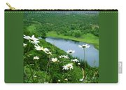 White Daisies At Queen's View 2 Carry-all Pouch
