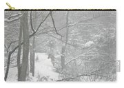 Querida In The Snow Storm Carry-all Pouch