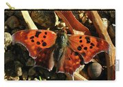 Question Mark Butterfly Carry-all Pouch