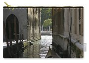 Quiet Canal In Venice Carry-all Pouch