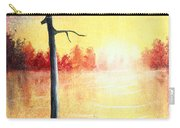 Quiet Evening By The River Carry-all Pouch