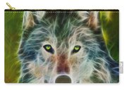 Quiet Majesty - Square Fractalized Version Carry-all Pouch