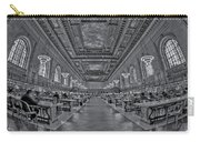 Quiet Room Bw Carry-all Pouch