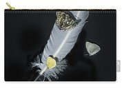 Quill With Butterflies Carry-all Pouch