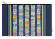 Quilt Painting With Digital Border 2 Carry-all Pouch