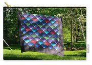 Quilt Top In The Breeze Carry-all Pouch