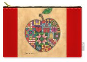 Quilted Apple Carry-all Pouch