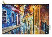 Quito Ecuador - Palette Knife Oil Painting On Canvas By Leonid Afremov Carry-all Pouch