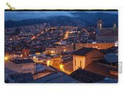 Quito Old Town At Night Carry-all Pouch