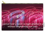 Quote By Ben Sweetland Carry-all Pouch