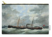 R. Bell And Co.s Steamship Bothal In A Heavy Swell Carry-all Pouch