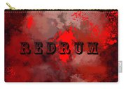 R E D R U M - Featured In Visions Of The Night Group Carry-all Pouch