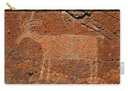 Big Horn Sheep Rock Art B Carry-all Pouch