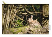 Rabbit In The Woods Carry-all Pouch