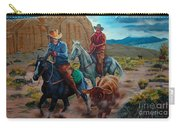 Rabbitbrush Round-up Carry-all Pouch