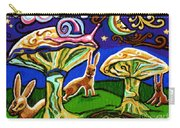 Rabbits At Night Carry-all Pouch
