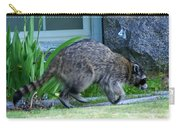 Raccoon In Flight Carry-all Pouch