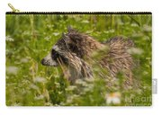 Raccoon In The Meadow Carry-all Pouch