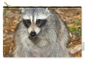 Raccoon Procyon Lotor Adult Foraging Carry-all Pouch