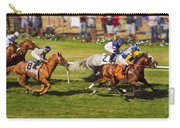 Race 6 - Del Mar Horse Race Carry-all Pouch