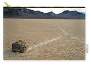 Racetrack Sailing Rocks Death Valley National Park Carry-all Pouch