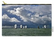 Racing Yachts In The Solent Carry-all Pouch