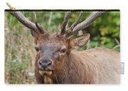 Racked Roosevelt Elk Carry-all Pouch